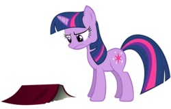 Size: 3283x2107   Tagged: dead source, safe, artist:sierraex, twilight sparkle, pony, unicorn, book, female, high res, mare, simple background, solo, transparent background, unicorn twilight, vector