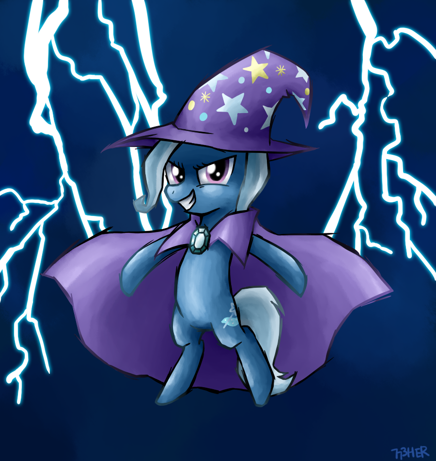 Naked great and powerful trixie