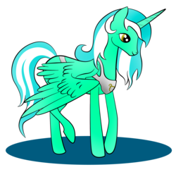 Size: 1864x1816 | Tagged: safe, artist:zomgitsalaura, lyra heartstrings, alicorn, pony, alicornified, female, lyracorn, race swap, simple background, solo, transparent background, vector