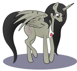 Size: 2000x1836 | Tagged: safe, artist:zomgitsalaura, octavia melody, alicorn, pony, alicornified, female, octacorn, race swap, simple background, solo, transparent background, vector