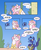 Size: 750x918 | Tagged: alicorn, artist:egophiliac, artist:mikash91, baby discord, colored, comic, discord, draconequus, female, male, mare, pink-mane celestia, pony, princess celestia, princess luna, royal sisters, s1 luna, safe, siblings, sisters, speech bubble, this will end in tears, trio