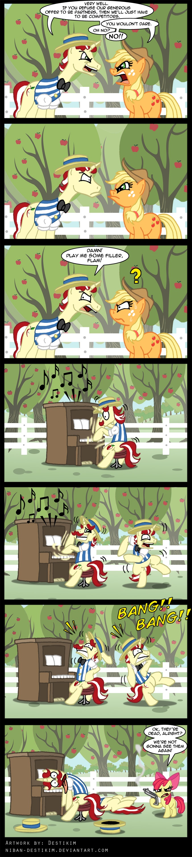 57942 Apple Bloom Applejack Artistniban Destikim Comic