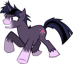 Size: 2753x2423 | Tagged: artist:nicktoonhero, safe, simple background, transparent background, twilight sparkle, vector, werelight shine