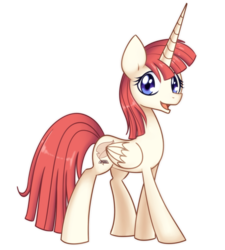 Size: 900x1000 | Tagged: artist:solar-slash, lauren faust, oc, oc:fausticorn, oc only, safe, simple background, solo, transparent background