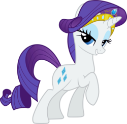Size: 2085x2040 | Tagged: safe, artist:regolithx, rarity, bedroom eyes, female, high res, lidded eyes, simple background, solo, stupid sexy rarity, transparent background, vector