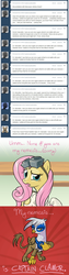 Size: 640x2560   Tagged: safe, artist:giantmosquito, fluttershy, gilda, griffon, ask, ask-dr-adorable, dr adorable, tumblr