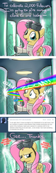 Size: 640x1974   Tagged: safe, artist:giantmosquito, fluttershy, rainbow dash, ask, ask-dr-adorable, chubbie, clone, dr adorable, rainbow blob, tumblr, vats