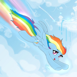 Size: 2000x2000 | Tagged: safe, artist:joakaha, rainbow dash, pegasus, pony, female, high res, mare, open mouth, solo