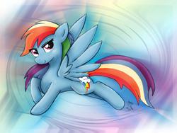 Size: 2000x1500 | Tagged: safe, artist:joakaha, rainbow dash, pegasus, pony, female, mare, solo