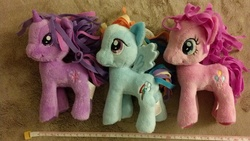 Size: 3264x1840 | Tagged: funrise, irl, official, photo, plushie, pony, safe, toy