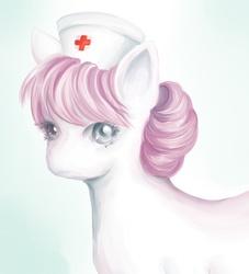 Size: 500x550 | Tagged: safe, artist:na-no-chan, nurse redheart, solo