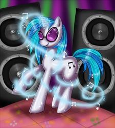 Size: 1170x1300 | Tagged: safe, artist:nefertie, dj pon-3, vinyl scratch, pony, unicorn, female, mare, solo