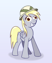 Size: 1375x1674 | Tagged: artist:helhoof, daring do, derpy hooves, female, hat, mare, pegasus, pony, safe, solo