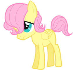 Size: 630x600 | Tagged: artist:daeternal, butterscotch, colt, fluttershy, foal, rule 63, safe