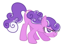 Size: 1914x1348 | Tagged: safe, artist:shaddyshad, screwball, angry, cute, hatless, missing accessory, scrunchy face, simple background, swirly eyes, transparent background, vector