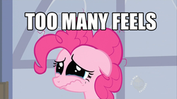Size: 1366x768   Tagged: safe, pinkie pie, earth pony, pony, crying, feels, female, floppy ears, mare, sad, solo, too many feels