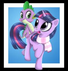Size: 900x947   Tagged: safe, artist:macflash2, spike, twilight sparkle