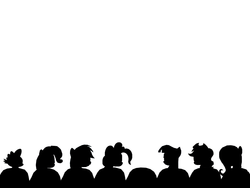 Size: 932x700 | Tagged: applejack, exploitable, fluttershy, movie, mystery science theater 3000, pinkie pie, rainbow dash, rarity, safe, spike, twilight sparkle