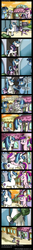 Size: 768x5765 | Tagged: safe, artist:myminiatureequine, night light, princess cadance, shining armor, twilight sparkle, twilight velvet, comic, crying, female, filly, filly twilight sparkle, foal, hug, train, younger