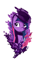 Size: 800x1400 | Tagged: safe, artist:ppdraw, twilight sparkle, clothes, hat, scarf, top hat