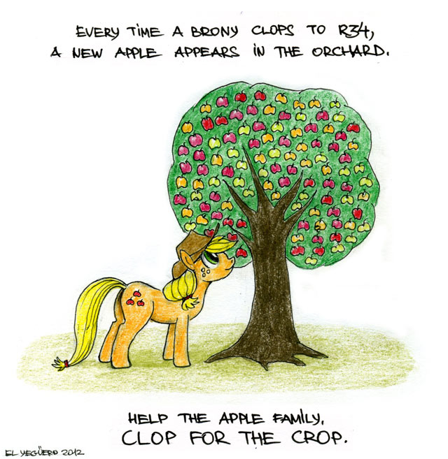 Applejack Clop Applejack, clop for the