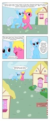 Size: 2404x5836 | Tagged: safe, artist:t-brony, cherry berry, linky, shoeshine, comic:friendship is tragic, comic
