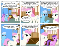 Size: 2583x2040 | Tagged: safe, artist:t-brony, amethyst star, cherry berry, linky, shoeshine, sparkler, twinkleshine, comic:friendship is tragic, comic, high res, moondancer (tragic)