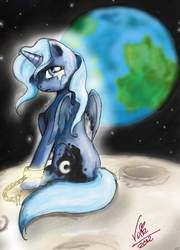 Size: 1477x2047 | Tagged: artist:vixetra, crying, princess luna, sad, safe, solo