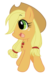 Size: 1600x2200 | Tagged: applejack, artist:akira bano, safe, simple background, solo