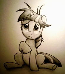 Size: 1724x1955 | Tagged: safe, artist:vulpessentia, twilight sparkle, traditional art