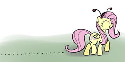 Size: 1125x563   Tagged: safe, artist:hip-indeed, fluttershy, ant