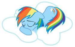 Size: 5000x3146 | Tagged: absurd res, artist:jennieoo, cloud, crying, rainbow dash, sad, safe, simple background, transparent background, vector