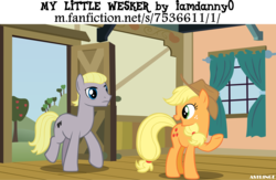 Size: 6176x4015 | Tagged: absurd res, albert wesker, applejack, artist:astringe, crossover, fanfic, my little wesker, ponified, resident evil, safe, this will end in death, this will end in pain, this will end in tears and/or death, this will not end well