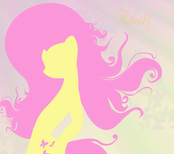 Size: 3000x2662 | Tagged: safe, artist:cornflexen, fluttershy, pony, cutie mark, female, high res, lineless, mare, minimalist, solo, text, wings