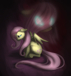 Size: 900x967   Tagged: safe, artist:willow141, fluttershy, crying, solo