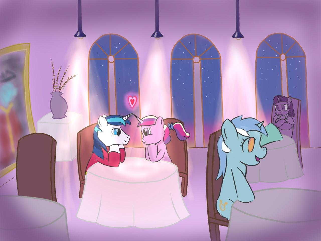 Back > Gallery For > Shining Armor And Princess Cadence Honeymoon