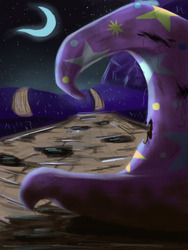 Size: 750x1000 | Tagged: artist:forevernyte, hat, no pony, safe, trixie