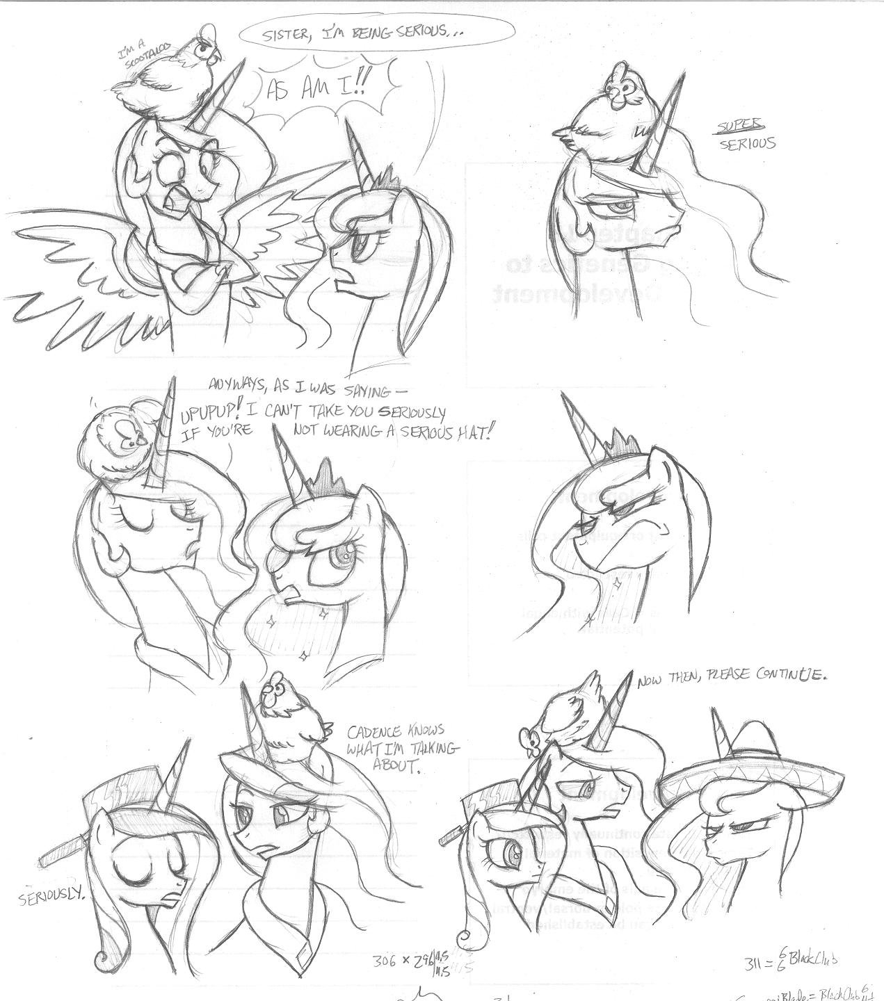 My little pony friendship is magic coloring pages best night ever -  Safe Scootachicken Serious Business Serious Hat Sombrero Traditional Art Derpibooru My Little Pony Friendship Is Magic Imageboard