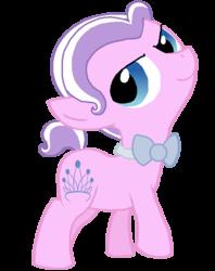 Size: 563x712 | Tagged: safe, artist:starryoak, diamond tiara, earth pony, pony, bowtie, diamond crown, rule 63, simple background, solo, transparent background