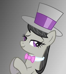 Size: 1600x1800 | Tagged: artist:theonewiththeoctaves, hat, octavia melody, safe, top hat