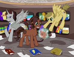 Castiel my little pony