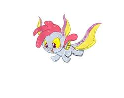 Size: 761x600 | Tagged: safe, artist:carnifex, oc, oc only, oc:helium, goo, goo pony, object pony, original species, element pony, filly, ponified