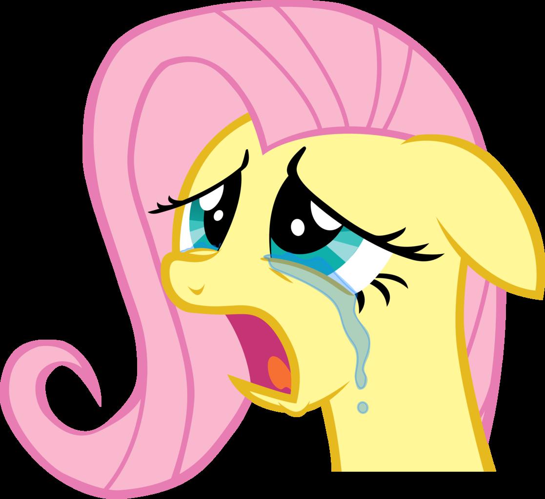 картинки флаттершай плачет стал