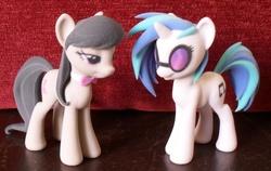 Size: 2841x1797 | Tagged: safe, artist:hashbro, dj pon-3, vinyl scratch, pony, 3d print, figure, figurine, irl, photo, shapeways