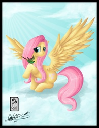 Size: 2668x3418 | Tagged: artist:enyoiyourself, bird, fluttershy, high res, safe