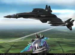 Size: 1600x1168 | Tagged: safe, artist:foxi-5, pipsqueak, princess celestia, princess luna, twilight sparkle, aircraft, helicopter, jet, plane