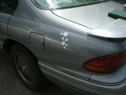 Size: 2560x1920 | Tagged: car, cutie mark, decal, derpy hooves, irl, no pony, photo, pontiac, pontiac bonneville, safe