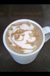 Size: 320x480 | Tagged: artist:cappuccinofrosting, coffee, latte, safe, spitfire