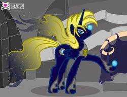 Size: 900x689 | Tagged: safe, artist:lillykitten, oc, alicorn, pony, alicorn oc, david bowie, flowing hair, flowing mane, flowing tail, goblin king, jareth, labyrinth (movie), male, male alicorn, male alicorn oc, movie reference, ponified, stallion