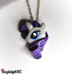 Size: 556x577 | Tagged: artist:kayleighoc, necklace, photo, rarity, safe